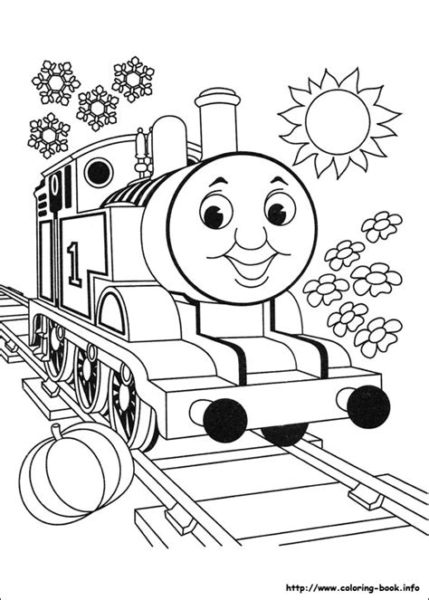 train set coloring page thomas and friends coloring picture