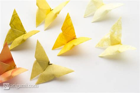 Origami Butterfly Simple - kell studio easy origami butterflies