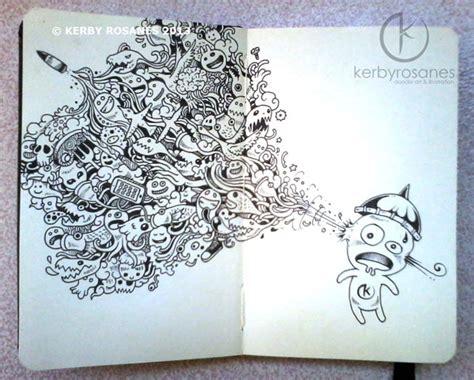 doodle sketchbook dive into the amazing world of sketchbook illustrations of