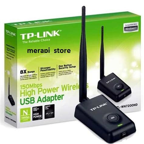 Harga Tp Link Penangkap Wifi jual tp link wireless adapter usb laptop daya tangkap