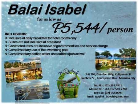Balai Isabel in Batangas