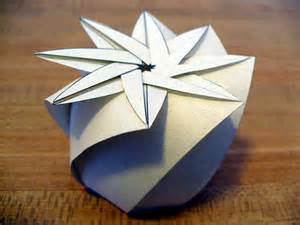 Origami Circle Box - the fitful flog 187 archive 187 the steamed bun box