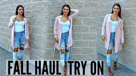 B7401 Tas Fashion Trendy 2017 fall clothing haul try on