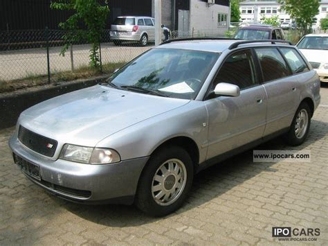 Audi A4 Avant 1998 by 1998 Audi A4 Avant 1 6 Klimatr Car Photo And Specs