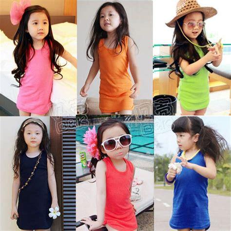 Grey Flower Dress Baju Anak Import aliexpress buy 2014 summer slim hip paragraph