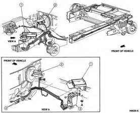 Check Brake System Ford F150 I Need A Brake Line Diagram For A 95 Windstar