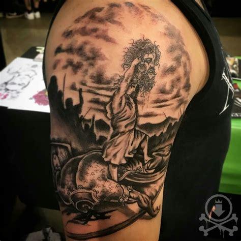 david and goliath tattoo black and grey david vs goliath by jose bolorin