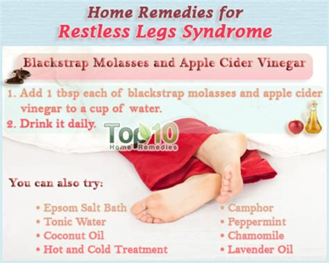 here is a surprisingly simple home remedy for restless leg