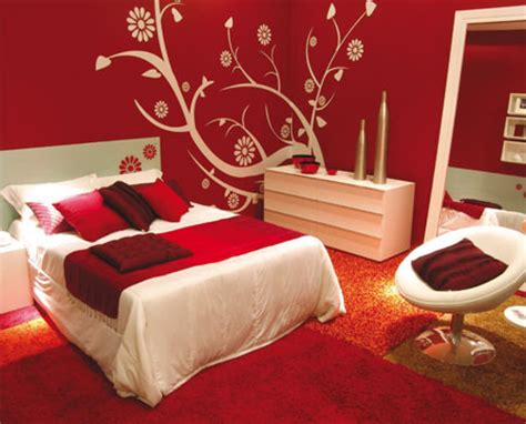 red and white bedroom modern bedroom design ideas with red and white decorations