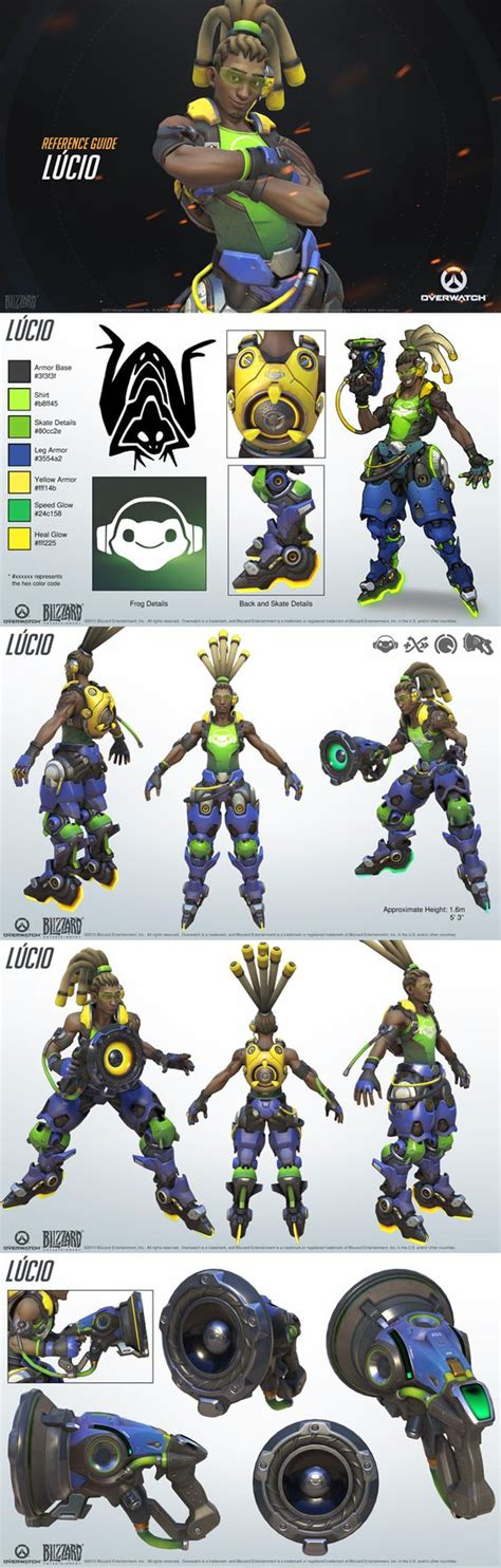 libro overwatch world guide lucio reference guide overwatch design radios and legends
