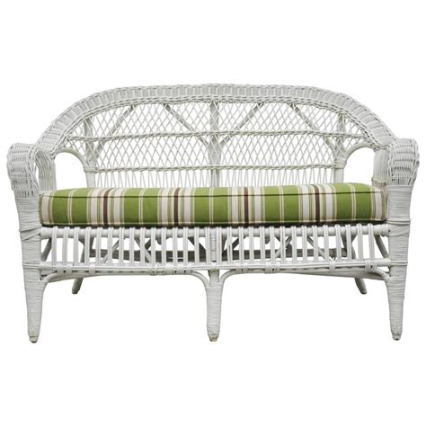 wicker sofas for sale wicker sofa for sale at 1stdibs