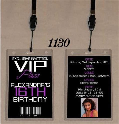 vip pass invitation template 25 best ideas about vip pass on