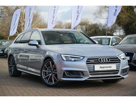 Audi A4 Avant Quattro S Line by Used 2017 Audi A4 Avant 3 0 Tdi V6 272 Ps Quattro S Line
