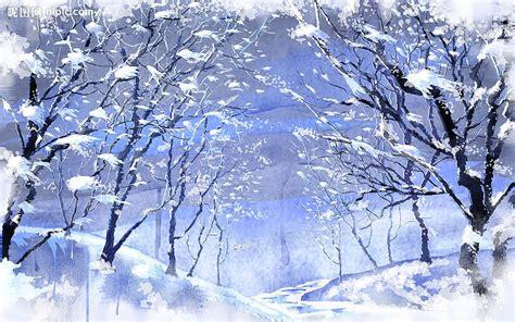 wann fängt der winter an 美丽的雪景设计图 背景底纹 底纹边框 设计图库 昵图网nipic