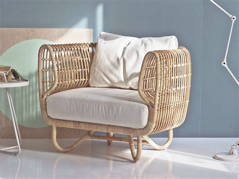 Rattan Nest Chair Nest Indoor Rattan Club Chair By Line Couture Oudoor