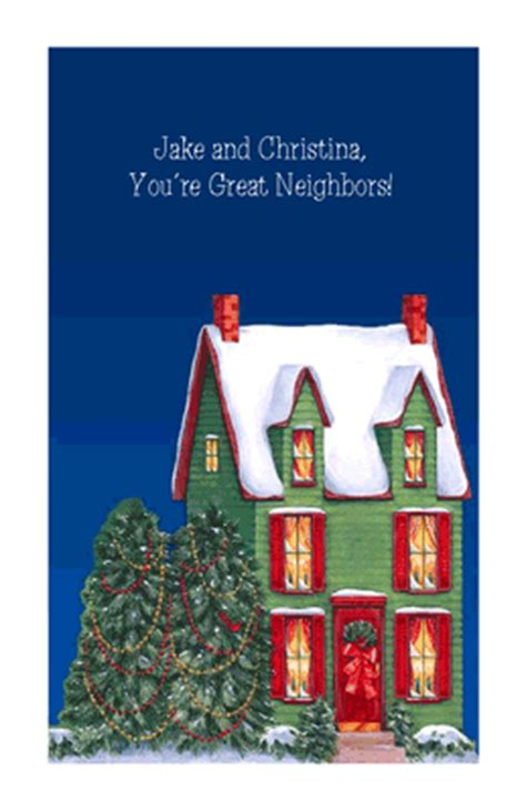 great neighbors greeting card christmas printable card american