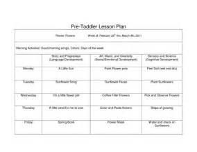 toddler lesson plan template pdf google search infant
