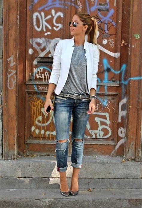 ideas para decorar jeans rotos outfits con jeans rotos 20 curso de organizacion del