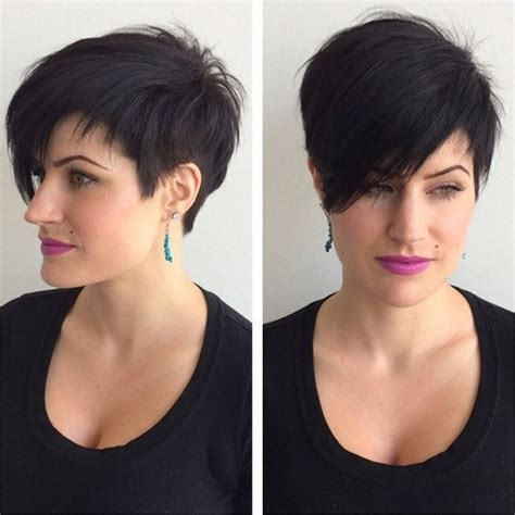 short hairstyles with 1 side longer 33 cool short pixie haircuts for 2018 pretty designs