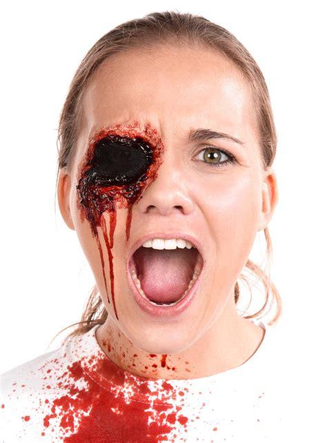 ausgestochenes auge halloween   schminkanleitung
