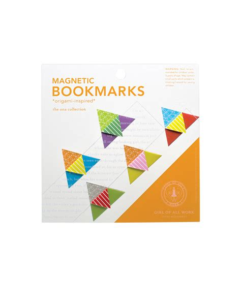 Origami Bookmarks For - origami magnetic bookmarks o keeffe museum
