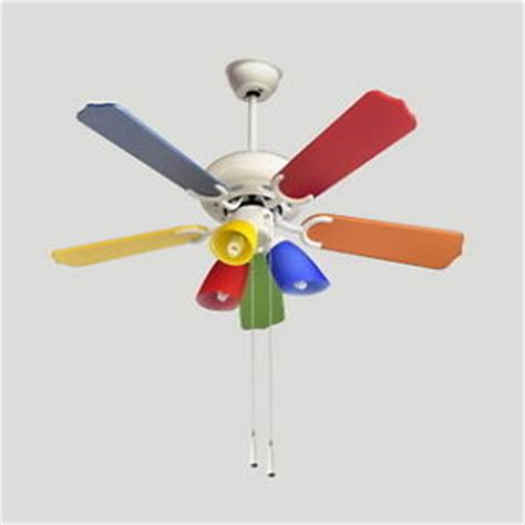 Multi Colored Ceiling Fans by Multi Colored Ceiling Fan Warisan Lighting