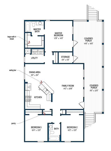 Beach Floor Plans by Best 25 Beach House Plans Ideas On Pinterest Beach