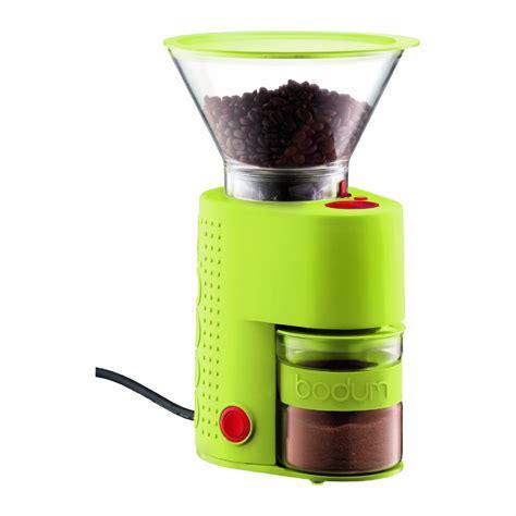 Beautiful Coffee Grinder Walmart #7: BODUM10903BristoElectricCoffeeGrinderLimeGreen.jpg
