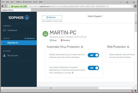 sophos home a free antivirus solution ghacks tech news