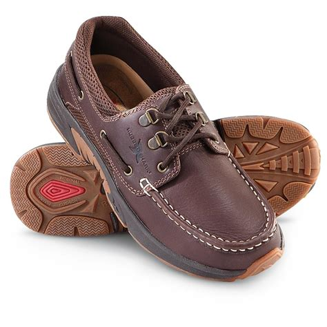 rugged shark atlantic shoes s rugged shark 174 atlantic boat shoe earth 203491 casual shoes at sportsman s guide