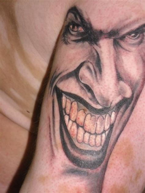 joker face tattoo designs joker tattoo picture at checkoutmyink com
