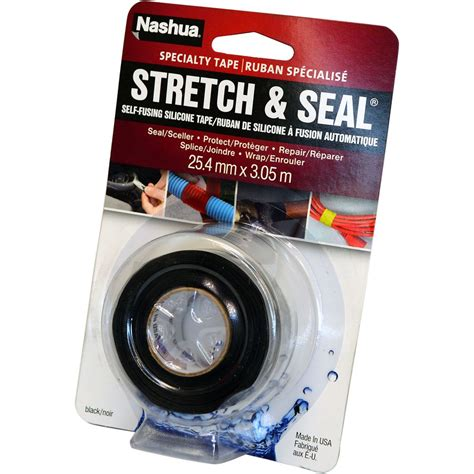 nashua nashua stretch seal silicone sealing black
