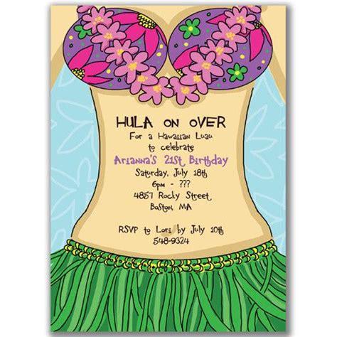 Hawaiian Theme Wedding Invitation To Email by Luau Invitation Wording Cimvitation