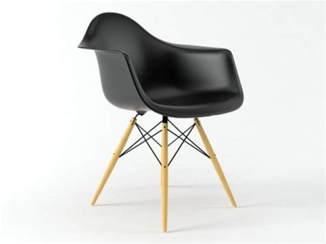 Eames Plastic Armchair Daw by Eames Plastic Armchair Daw 3d Model Vitra