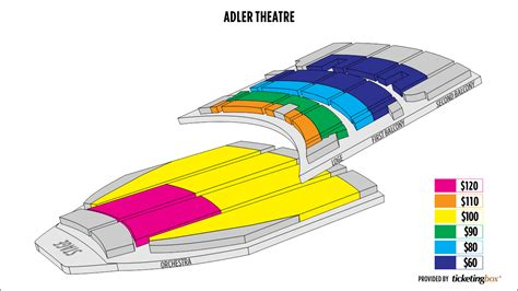 adler theater seating chart adler theater seating chart cheap adler theatre tickets