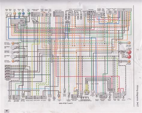 gsxr ecu pin number diagram wiring diagrams schematics