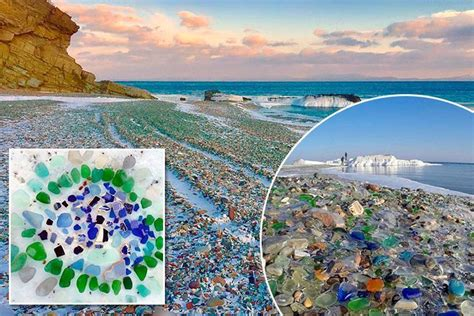 russian glass beach waves transform russian seaside from a dumping ground for