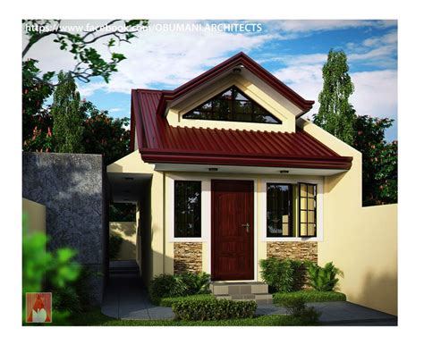 beautiful small houses with lots of green trees plants