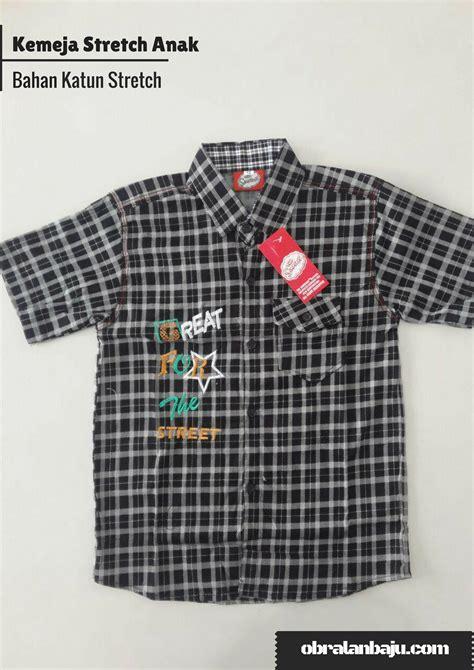 Kemeja Anak Katun 5 Tahun kemeja stretch anak pusat grosir baju pakaian murah