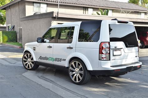 custom land rover lr4 land rover lr4 custom wheels stormer replica 22x9 5 et