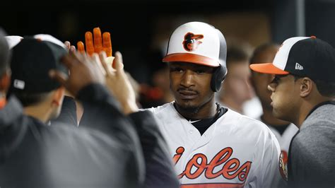 adam jones sets the all time oriole park at camden yards
