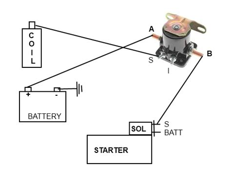 3 pole starter solenoid wiring diagram wiring diagram