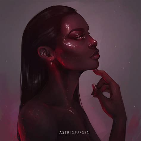 black woman portrait by florin chis on deviantart garnet by astri lohne on deviantart