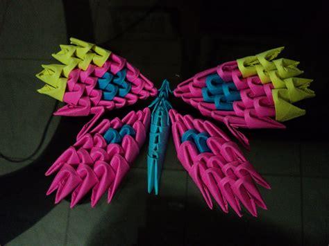 Origami Mi - un poco de mi mundo origami mariposa modular
