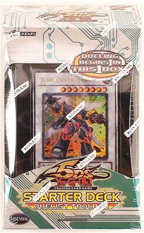 yugioh 5ds starter deck konami yu gi oh 5d s duelist toolbox starter deck da