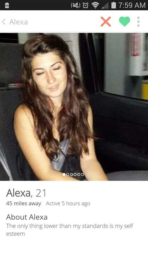 forum for women is for women only 20 tinder profiles that are so funny you ll want to swipe