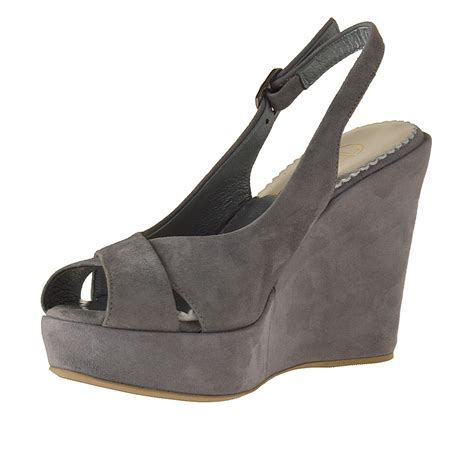 grey sandal wedges gray wedge sandals 28 images mm6 by maison martin
