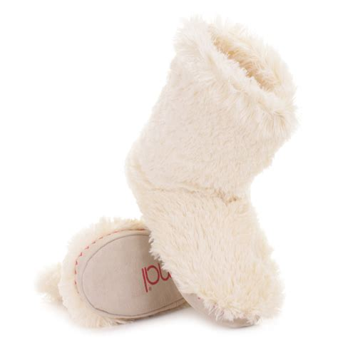 fluffy animal slippers womens animal bollo faux fur cosy fluffy slippers