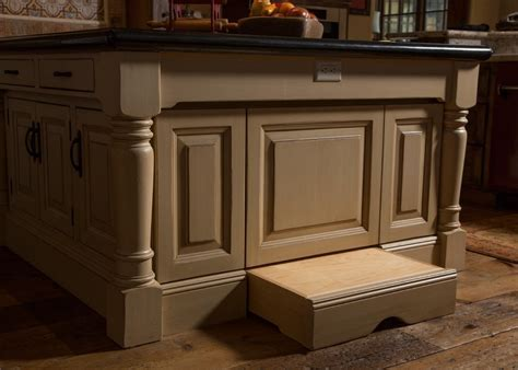 kitchen step stool Kitchen Contemporary with Brookhaven