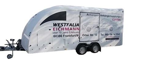 Motorrad Anh Nger Frankfurt by Anh 228 Nger Vermietung Westfalia Eichmann Ihr Partner F 252 R